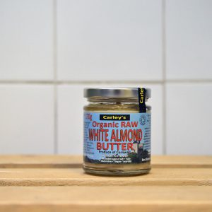 CARLEYS Raw White Almond Butter – 170g