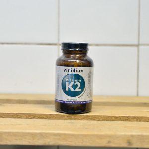 20% off Viridian Vitamin K2 – 90 capsules (disco)