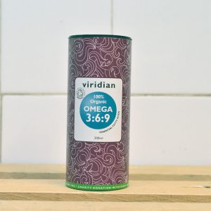 Viridian Organic Omega 3:6:9 Oil – 200ml