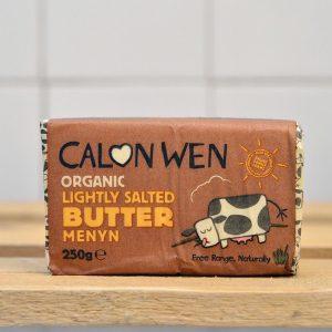 Calon Wen Organic Salted  Butter – 250g