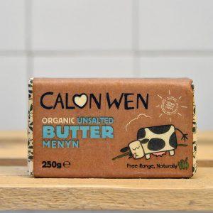 Calon Wen Organic Unsalted Butter – 250g