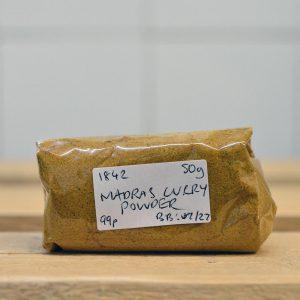 Zeds Medium Madras Curry Powder – 50g