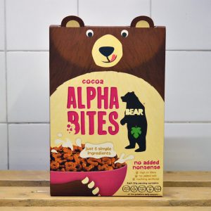 Alpha Bites Cocoa Cereal – 350g