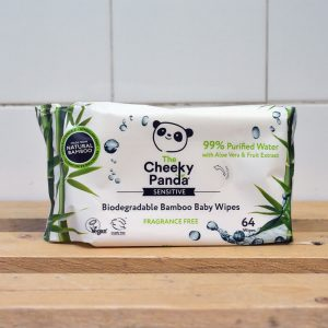 The Cheeky Panda Baby Wipes – 64 Pack