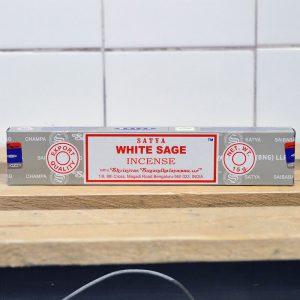 Satya White Sage Incense Sticks – 1 Pack