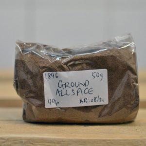 Zeds Ground Pimento / Allspice – 50g