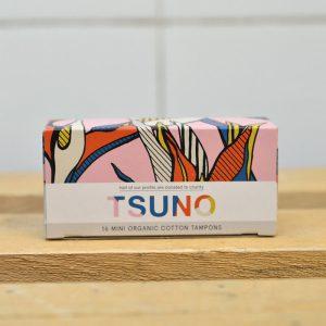 Tsuno Organic Mini Tampons – 16 Pack