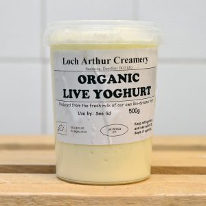 Loch Arthur Organic Live Yoghurt – 500g
