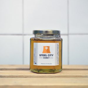 Steel City Bees Local Raw Clear Honey – 340g