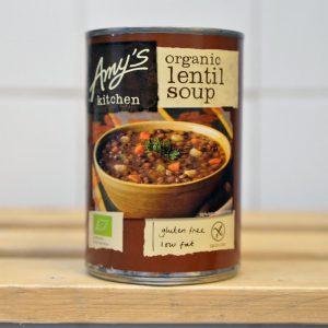 Amy's Kitchen Tin Lentil Soup – 400g