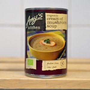 Amy's Kitchen Tin Mushroom Soup Tin – 400g