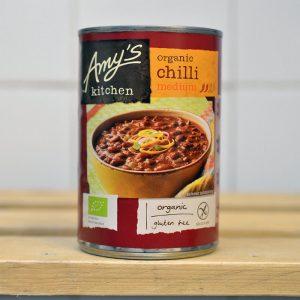 Amy's Kitchen Tin Med Spice Chilli – 416g