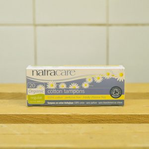 NATRACARE No App Regular Tampons – 20 Pack