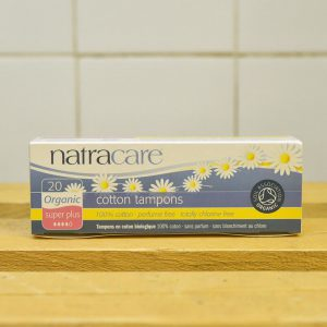 NATRACARE No App Super Plus Tampons – 20 Pack