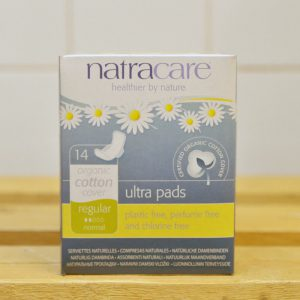 NATRACARE Ultra Pads Regular with Wings – 14 Pack