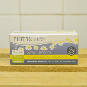 NATRACARE Applicator Regular Tampons – 16 Pack