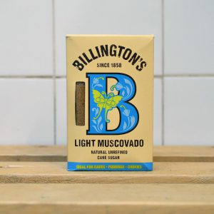 Billington's Muscovado Light Sugar – 500g