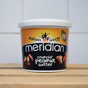 Meridian No Salt Peanut Butter – 1kg