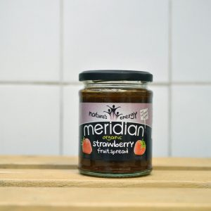 Meridian Organic Strawberry Spread – 284g