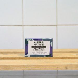 ALTER/NATIVE Lavender Ger Shampoo Bar – 95g