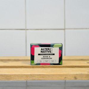 ALTERNATIVE Rose Geranium Conditioner Bar – 90g