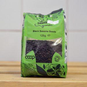 Suma Organic Black Sesame Seeds – 125g