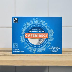 CafeDirect Decaff Tea (Fairtrade) – 80 Bags