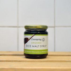 Clearspring Organic Rice Malt Syrup – 330g