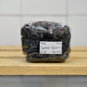 Zeds Black Jumbo Raisins – 200g