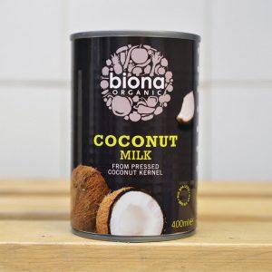 Biona Organic Large Coconut Milk – 400ml