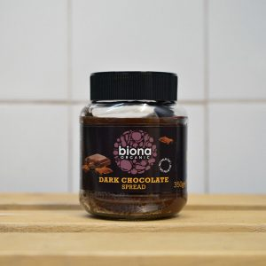 Biona Vegan Dark Cocoa Velvety Smooth Spread – 350g