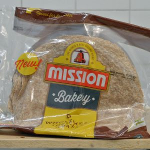 Mission Wholemeal Tortilla Wraps – 8 Pack