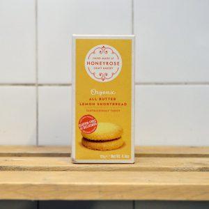 Honeyrose Gluten Free All Butter Lemon Shortbread – 125g