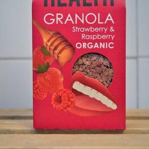 Rude Health Strawberry Raspberry Granola – 475g