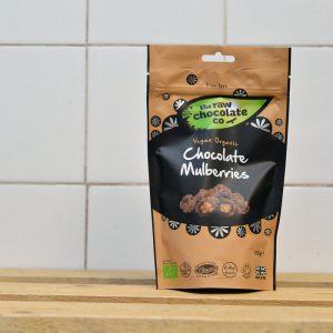 Raw Choc Co Vegan Chocolate Mulberries – 125g