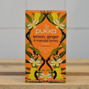 PUKKA Lemon, Ginger Manuka Tea – 20 Bags