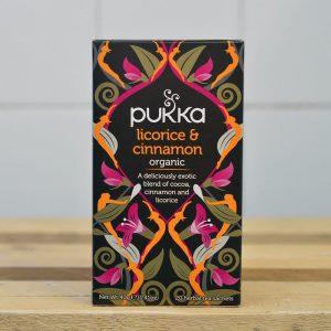 PUKKA Liquorice Cinnamon Tea – 20 Bags