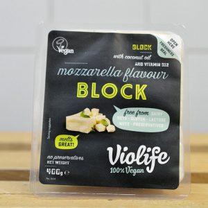 Violife Vegan Mozzarella Cheese Block – 400g