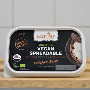 Naturli Organic Vegan Spreadable Butter – 225g