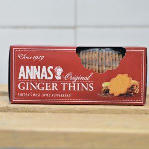 Anna's Ginger Thins – 150g