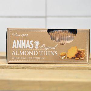 Anna's Almond Thins – 150g