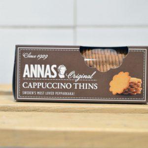 Anna's Cappuccino Thins – 150g
