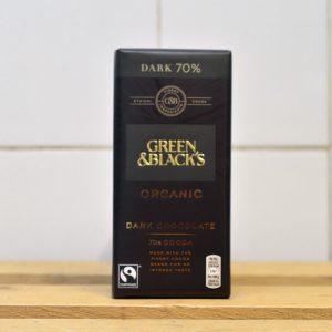 Green & Blacks 70% Dark Chocolate – 90g