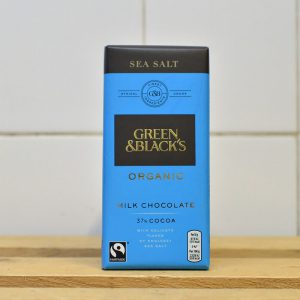 Green & Blacks 37% Sea Salt Chocolate – 90g