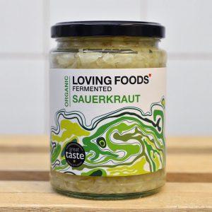 Loving Foods Raw Original Sauerkraut – 500g