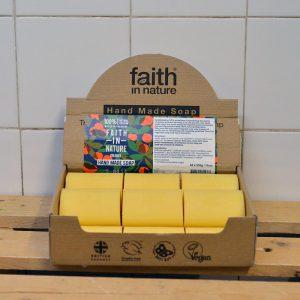 Faith Orange Loose Soap – 100g