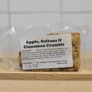50% OFF! – Perfectionary Apple, Sultana & Cinnamon Crumble