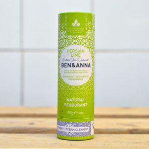 Ben & Anna Plastic Free Persian Lime Deodorant – 60g