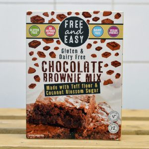 Free & Easy Gluten Free Chocolate Brownie Mix – 350g