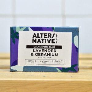 ALTERNATIVE Lavender Ger Conditioner Bar – 90g